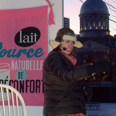 """Contes """"Soirées réconfortantes Le Lait"""" Vieux-Port, Montréal, Qc. 2010"""