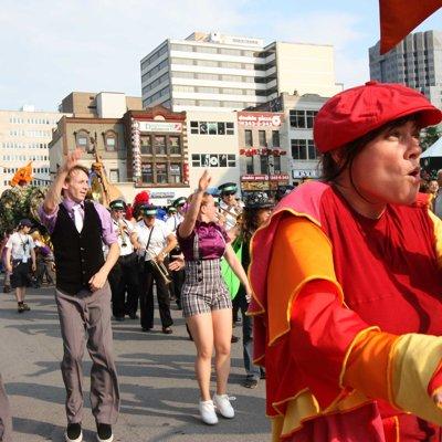 Festival International de Jazz de Montréal 2010 -Parade de la Louisiane ©JasmineAllanCôté