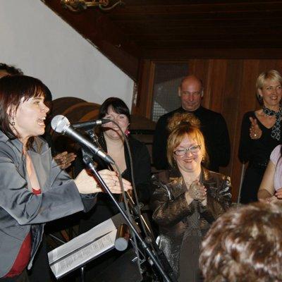 """Lancement """"Tricot Sacré..."""" Ste-Geneviève, Qc. 2007"""